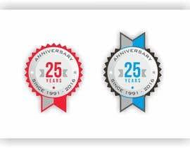 #17 untuk 25th Anniversary Decal oleh pernas