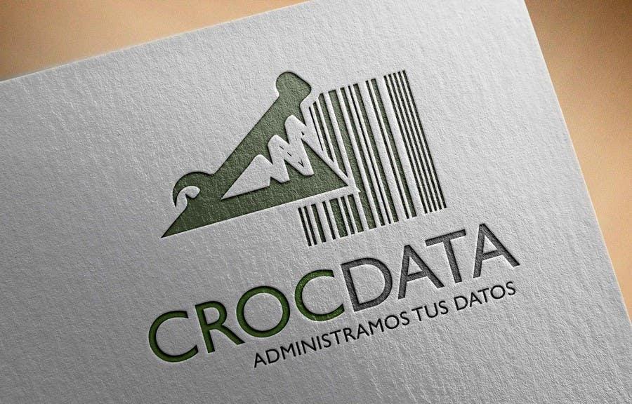Penyertaan Peraduan #67 untuk Logo for CrocDATA a website for barcodes