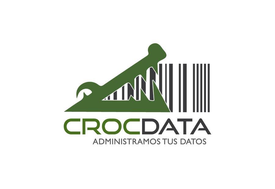Penyertaan Peraduan #78 untuk Logo for CrocDATA a website for barcodes