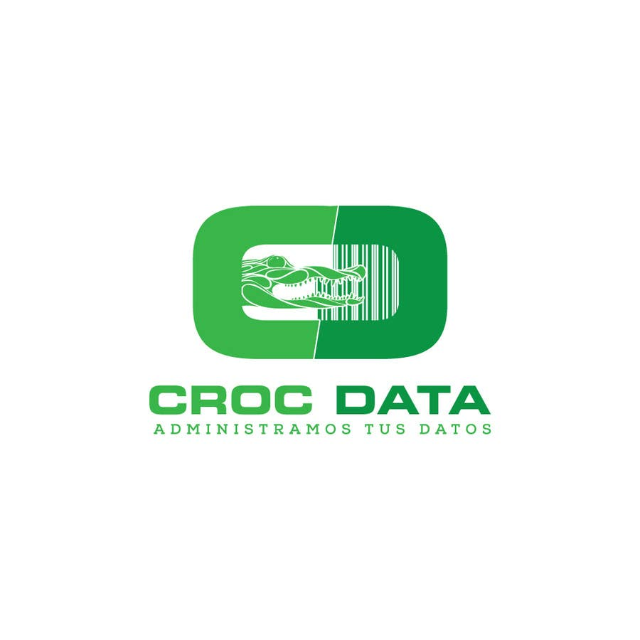 Penyertaan Peraduan #46 untuk Logo for CrocDATA a website for barcodes