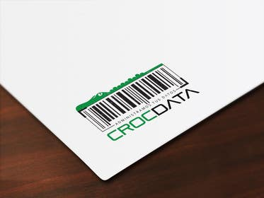 #126 untuk Logo for CrocDATA a website for barcodes oleh shanzaedesigns