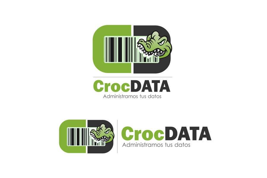 Penyertaan Peraduan #50 untuk Logo for CrocDATA a website for barcodes