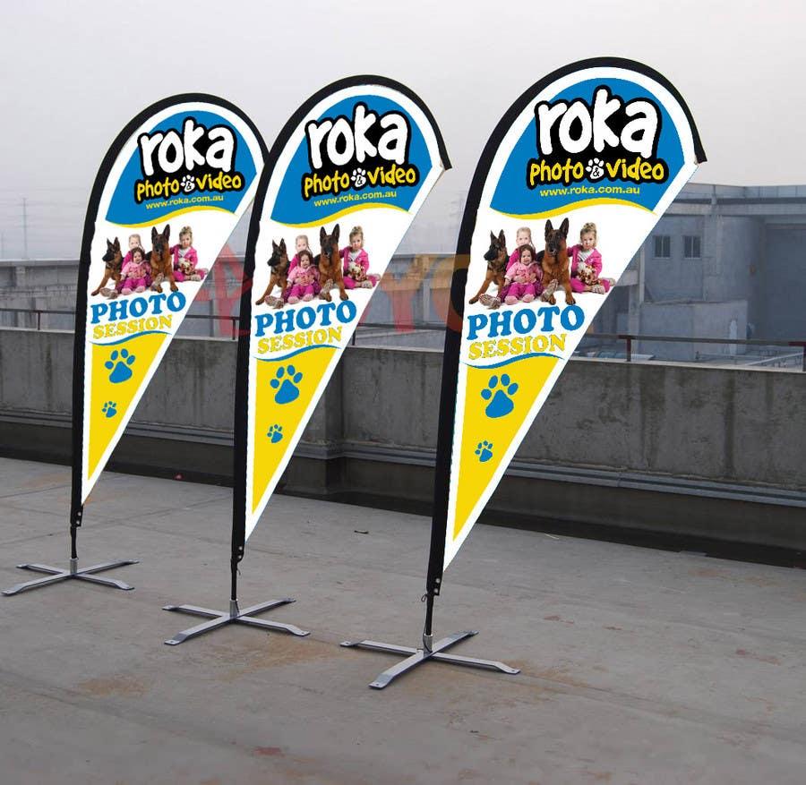 Participación en el concurso Nro.                                        1                                      para                                         Graphic Design for Roka photo & Video