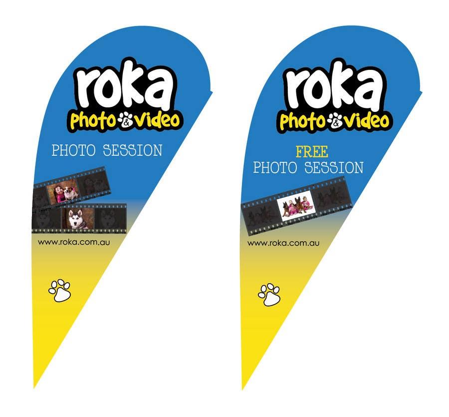 Participación en el concurso Nro.                                        18                                      para                                         Graphic Design for Roka photo & Video