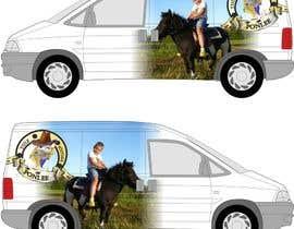 #8 untuk Graphic design for company vehicle oleh manfredslot