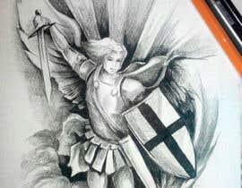 soput tarafından Michael the Arch Angel Tattoo için no 1