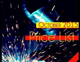 #20 untuk Design a cover for a price list oleh blackjacob009