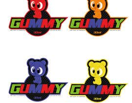#17 untuk Gummy bear logo oleh heberomay