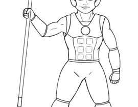 #13 untuk Design a character of Kattappa (warrier in Movie bahubali) oleh mykwago