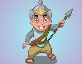 #19 untuk Design a character of Kattappa (warrier in Movie bahubali) oleh kvinay84