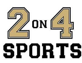 alexsantiagonz tarafından Design a Logo for 2on4 Sports için no 9