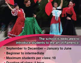 brissiaboyd tarafından Create an ad for a Flamenco Dance School için no 3