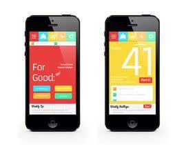 mindtracker7890 tarafından 1 First screen & 1 Home Screen Design for a creative app için no 3