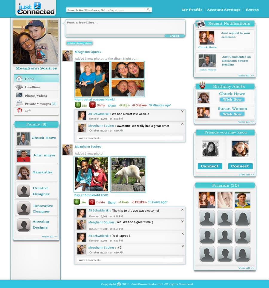 Inscrição nº 66 do Concurso para Graphic Design for Home Page for Website