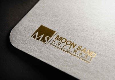 PyramidsGraphic tarafından Design a Logo For Moon Sand Software (Arabic - English) için no 4
