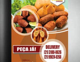 #4 untuk Flyer for Food (Brazilian Snacks) Delivery oleh Swarup015