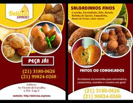 #3 untuk Flyer for Food (Brazilian Snacks) Delivery oleh rayhandnj