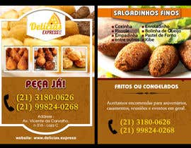 #8 untuk Flyer for Food (Brazilian Snacks) Delivery oleh rayhandnj