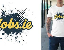 dstevens tarafından Design a T-Shirt for Jobs.ie için no 96