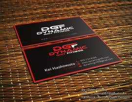 #118 for Design Business Cards- 2 Versions by DaimDesigns