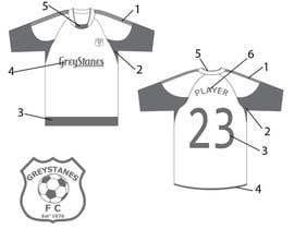 aanbadart tarafından Design a SoccerJersey için no 17