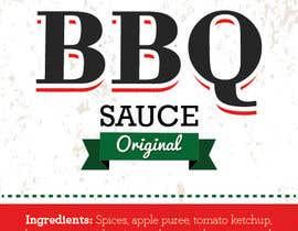 #14 untuk Design one label for sauce bottles oleh AngieCiro