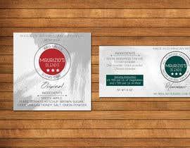 #9 untuk Design one label for sauce bottles oleh amitpadal