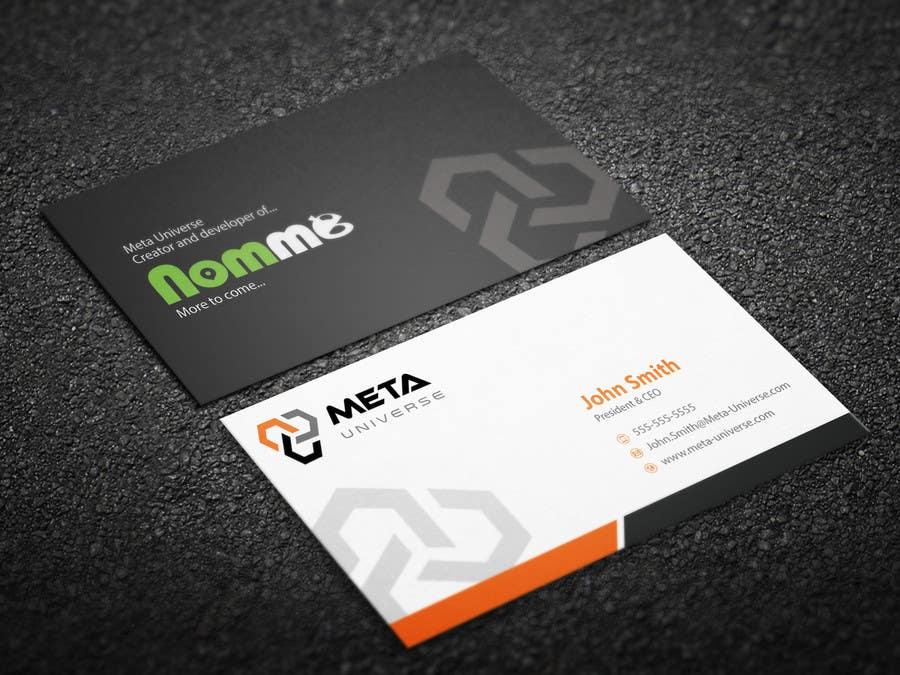 Design Some Business Cards For App Development Company