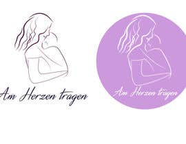 #12 untuk Design eines Logos for AM HERZEN TRAGEN oleh andrejor