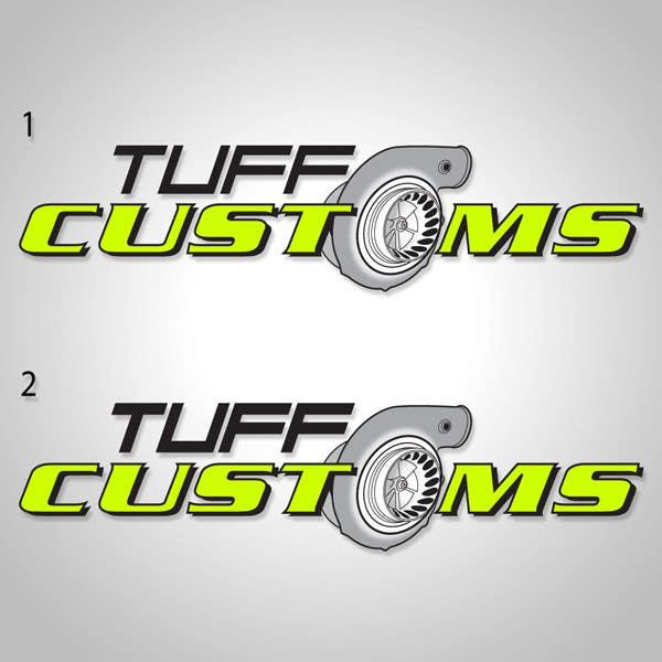 Contest Entry #                                        37                                      for                                         Logo Design for Tuff Customs