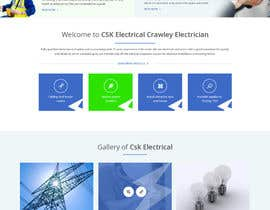 #24 untuk Build a new website for replacing my existing website for an electrician oleh syrwebdevelopmen