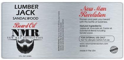 RainMQ tarafından Design 2 Beard Oil Labels için no 27