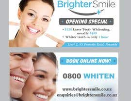 Shrey0017 tarafından Design a Flyer for a teeth whitening clinic! için no 73