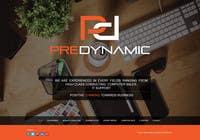 Build a Website for Predynamic için Graphic Design11 No.lu Yarışma Girdisi
