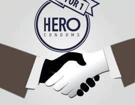 tabdeltwab tarafından Create HERO condoms T-shirt- Botswana donation trip. için no 23