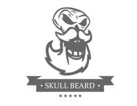 EhteshamMukhtar tarafından Skull Beard logo için no 25