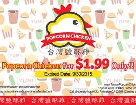 #11 untuk Design a coupon oleh amywang91