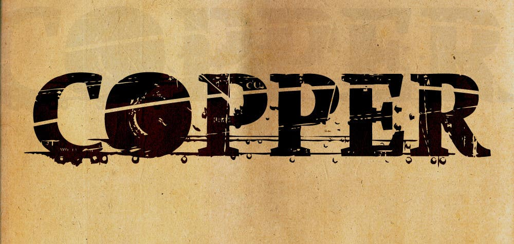 #7 for Design a Logo for Canadian rock band COPPER by Dayna2