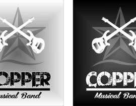 #34 untuk Design a Logo for Canadian rock band COPPER oleh ronaldcolladojr