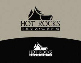 #44 untuk Design a Logo for Hot Rocks Java Cafe oleh pixell