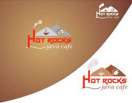 mgliviu tarafından Design a Logo for Hot Rocks Java Cafe için no 278