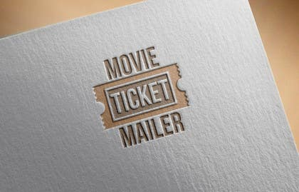 #35 untuk Design a Logo - MOVIE TICKET MAILER oleh Huelevel