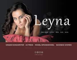 #41 untuk Design a website for an actress/singer/model oleh styleworksstudio