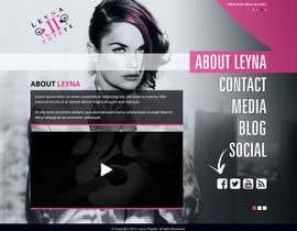 #33 untuk Design a website for an actress/singer/model oleh xsasdesign