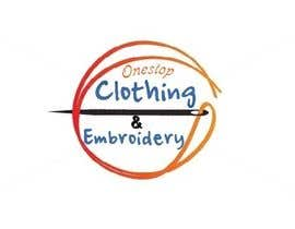 nº 15 pour Design a Logo for Onestop Clothing & Embroidery par sweetzahid