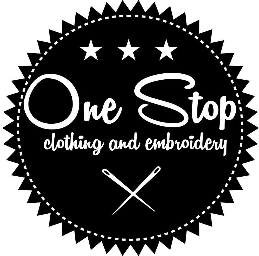 #6 for Design a Logo for Onestop Clothing & Embroidery by cha5e