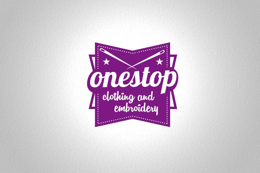 #8 for Design a Logo for Onestop Clothing & Embroidery by cha5e