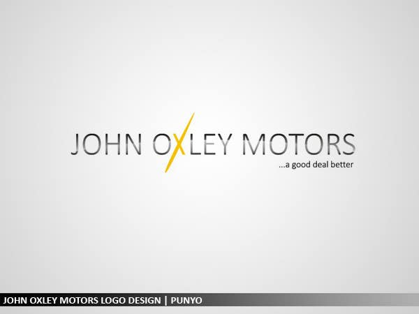 #534 for Design a Logo for John Oxley Motors by punyo