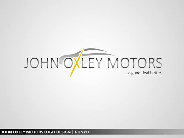 #762 for Design a Logo for John Oxley Motors by punyo