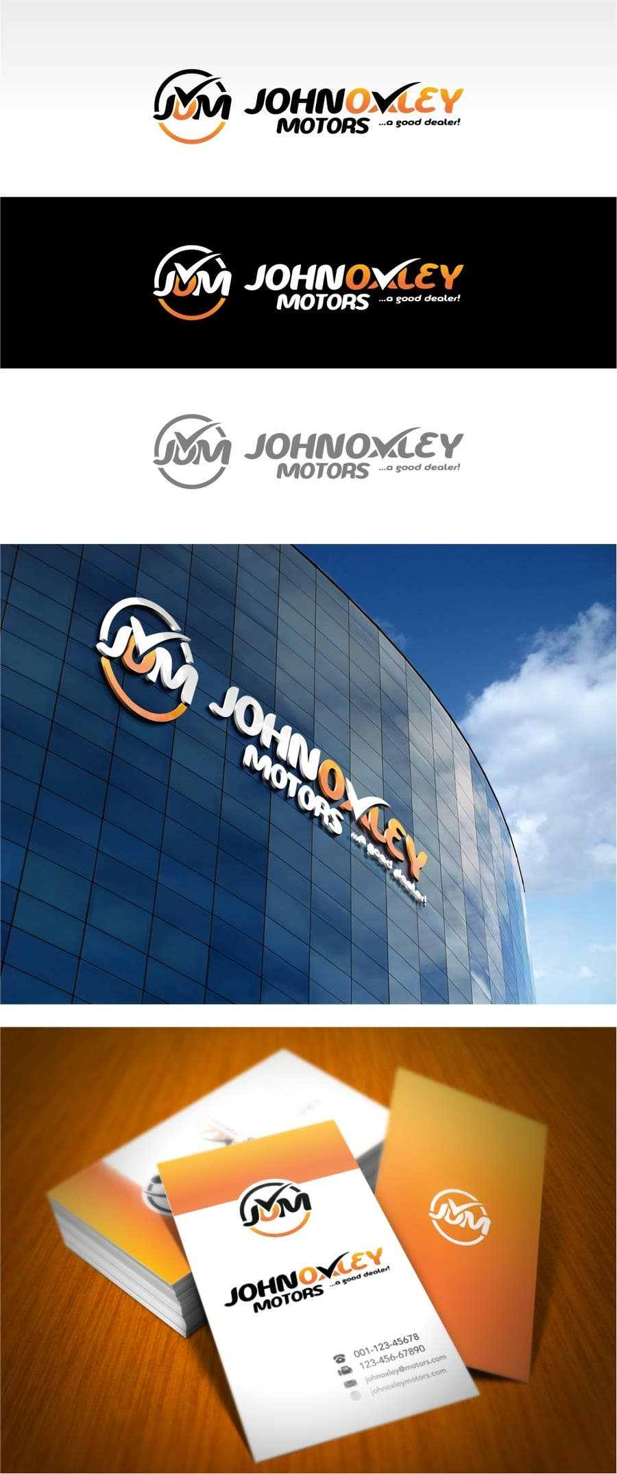 #233 for Design a Logo for John Oxley Motors by jummachangezi